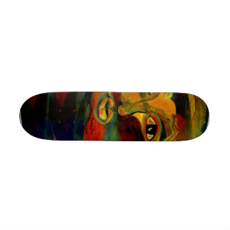 Funny Sun Faces Skateboards