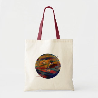 Funny Sun Faces, Watching You Budget Tote Budget Tote Bag