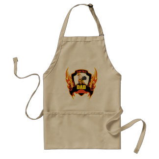 Funny Super Hero Dad Fathers Day Gifts Apron