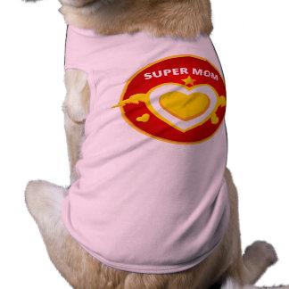 Funny Superhero Flash Mom emblem Shirt