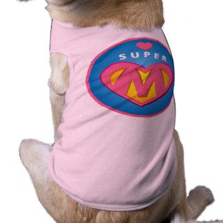 Funny Superhero Superwoman Mom emblem Shirt