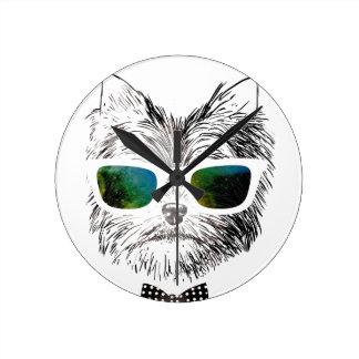 Funny Swag Dog Puppy Clock