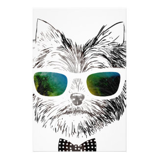 Funny Swag Dog Puppy Stationery Paper