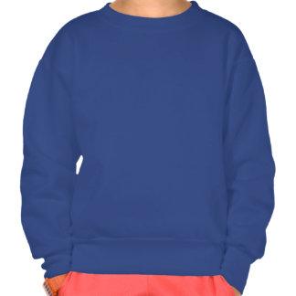 Funny Sweet Kitty Custom Kid's Name Sweatshirt