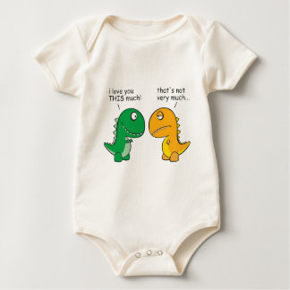 funny-T-Rex-little-arms-cartoon Baby Bodysuit