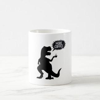 Funny T-rex needs coffee Coffee Mug