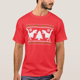 Funny T-Rex Ugly Christmas Sweater