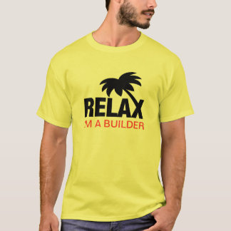 Funny t-shirt for builders with funny saying