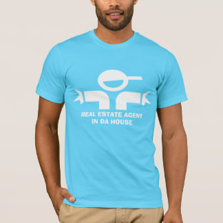Funny t-shirt with quote for real estate agent