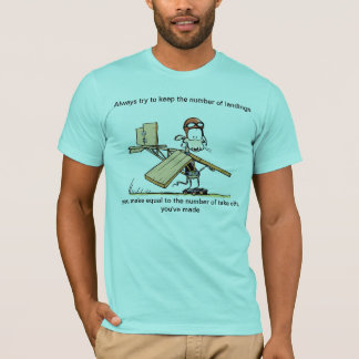 Funny Take Off Aviation Joke T-Shirt
