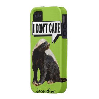 Funny Talking Honey Badger Case-Mate iPhone 4 Case
