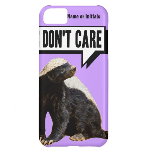 Funny Talking Honey Badger iPhone 5C Covers