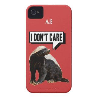 Funny Talking Honey Badger Case-Mate Blackberry Case