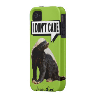 Funny Talking Honey Badger iPhone 4 Covers