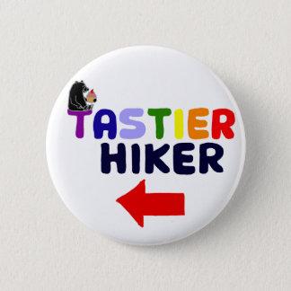Funny Tastier Hiker Cartoon 6 Cm Round Badge