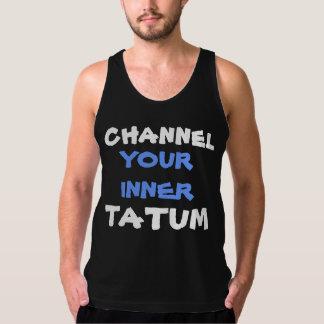 Funny Tatum Workout Muscle Handsome Dancer Pun Singlet