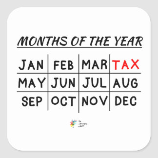 Funny Tax Sticker for Tax Accountant