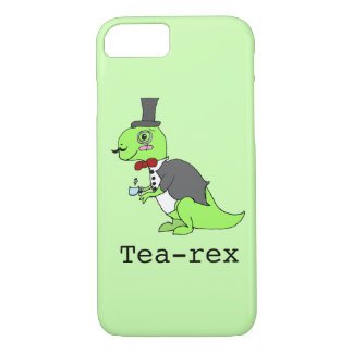 Funny 'Tea-rex' Dinosaur iPhone 8/7 Case