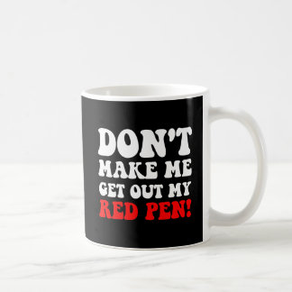 Funny teacher classic white coffee mug