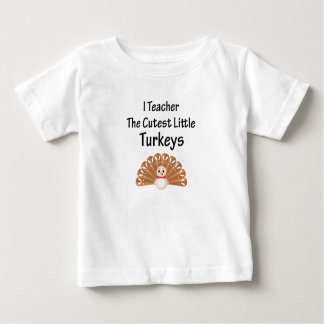 Funny Teacher Thanksgiving Men and womens Baby T-Shirt