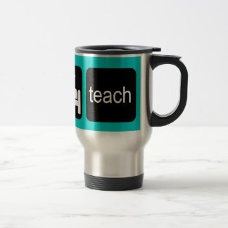 Funny teacher travel mug