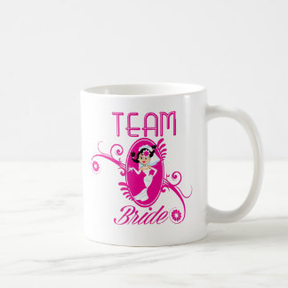 Funny Team Bride Basic White Mug