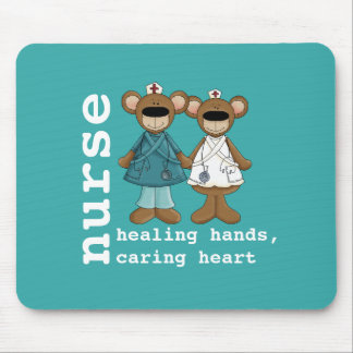 Funny Teddy Bears Nurses Gift Mousepads