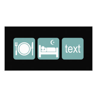 Funny texting personalized photo card