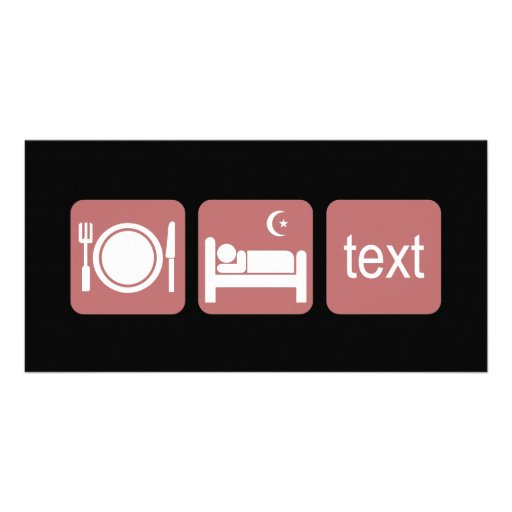 Funny texting photo cards