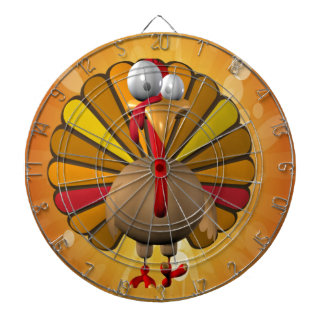 Funny Thanksgiving Turkey Dartboard