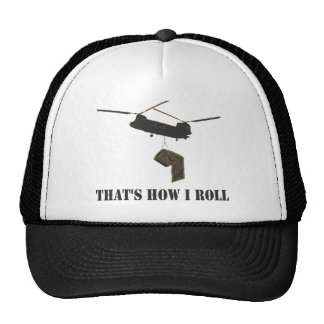 Funny that's how i roll hat