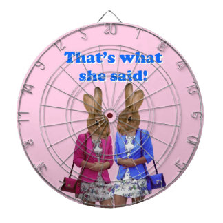 Funny that's what she said text dart boards