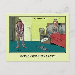 funny golf invitations announcements zazzle au. Black Bedroom Furniture Sets. Home Design Ideas