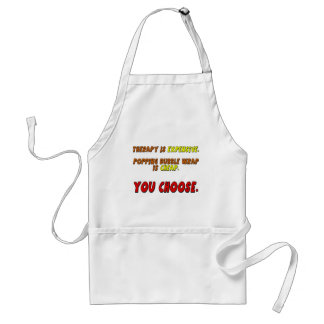 Funny Therapy T-shirts Gifts Standard Apron