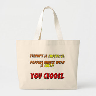 Funny Therapy T-shirts Gifts Tote Bag