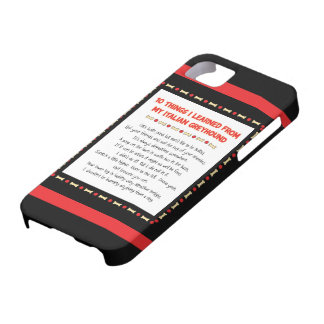 Funny Things I Learned From My Italian Greyhound iPhone 5 Cover