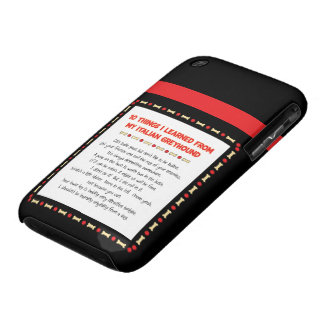 Funny Things I Learned From My Italian Greyhound Case-Mate iPhone 3 Cases