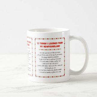 Funny Things I Learned From My Newfoundland Basic White Mug