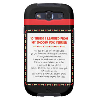 Funny Things I Learned From My Smooth Fox Terrier Galaxy SIII Cover