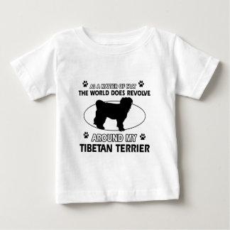 Funny tibetan terrier designs baby T-Shirt