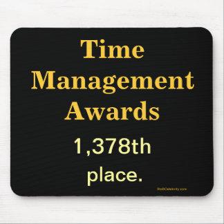 Funny Time Management Joke Mousepad
