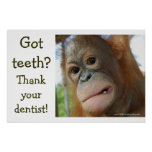 Funny Tooth Gratitude Posters