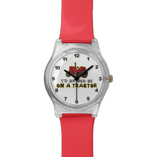 Funny Tractor Watch