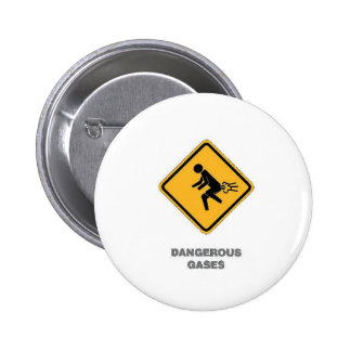 funny traffic sign 6 cm round badge
