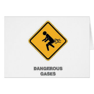 funny traffic sign greeting card