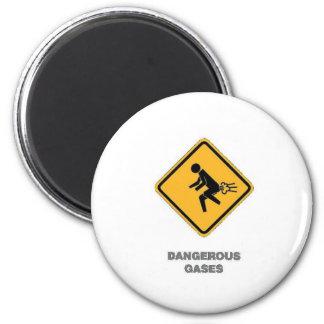funny traffic sign magnet