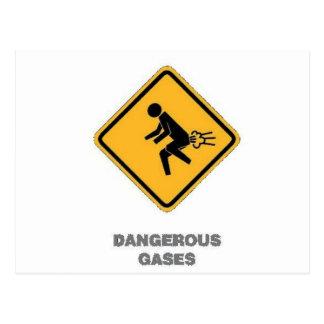 funny traffic sign postcards