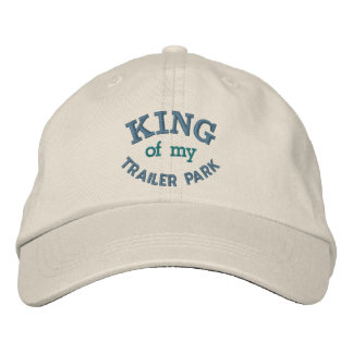 Funny Trailer Park / Camper Embroidered Hat