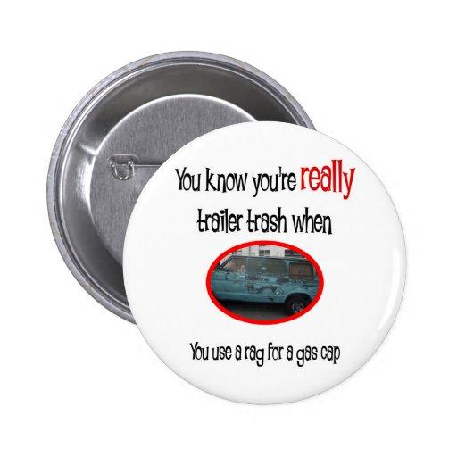 Funny Trailer Park Shirt Buttons