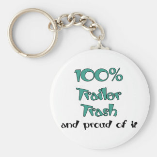Funny Trailer Park Shirts and Gifts Keychain